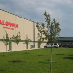 Algoma Finished Building using Tilt-wall construction