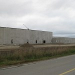 Algoma tilt-up, site cast constructed building shell