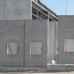 Algoma wall with window panel