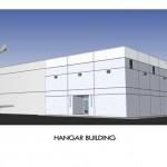 Aircraft Hangar Building - tilt-up construction