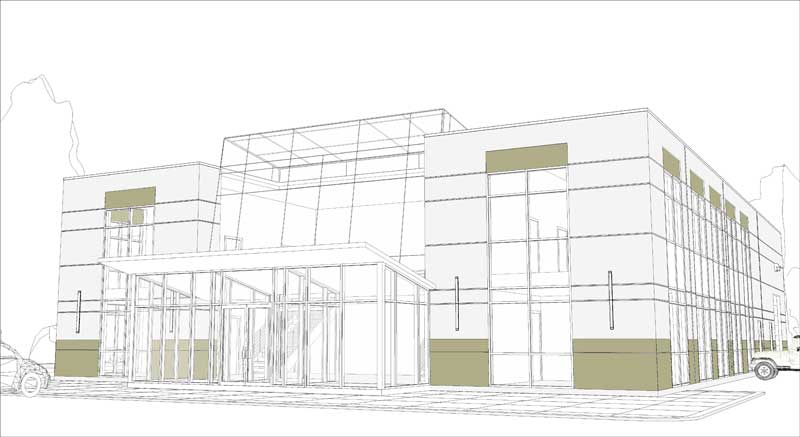 Future FULLTILT Office - tilt-up construction